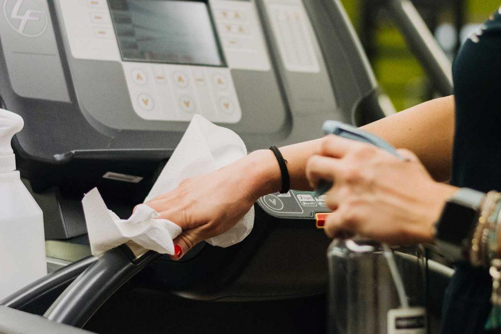 Igienizzare i macchinari